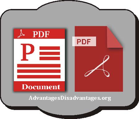 Advantages and disadvantages of PDF